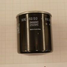 Kraftstofffilter MANN-FILTER WK 818//80