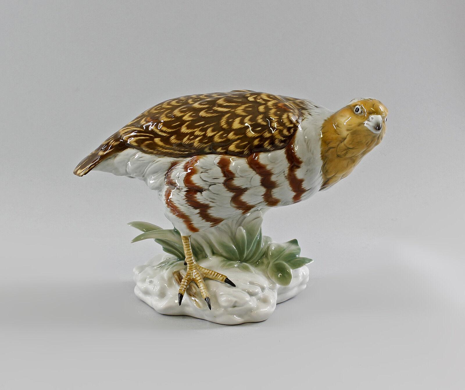 Porcelana figura pájaro reclamos faisán ens 26x18cm 9997831