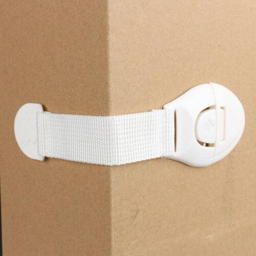 Sécurité de 5x bébé Kid Enfant Lock Preuve Cabinet Placard Tiroir Réfrigérateur Pet Door UK