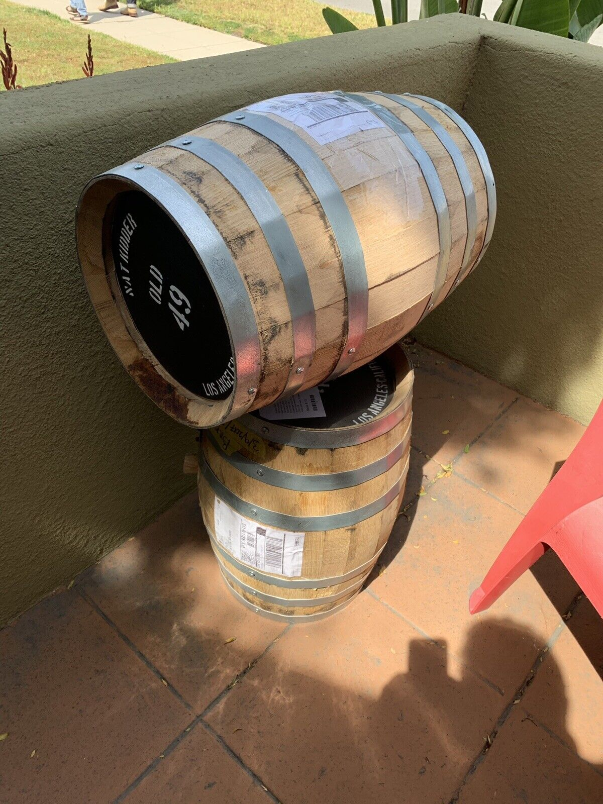 Bourbon barils Gratuit Livraison locale-Wholesale-Over  300 NEUF (Swan Tonnellerie)