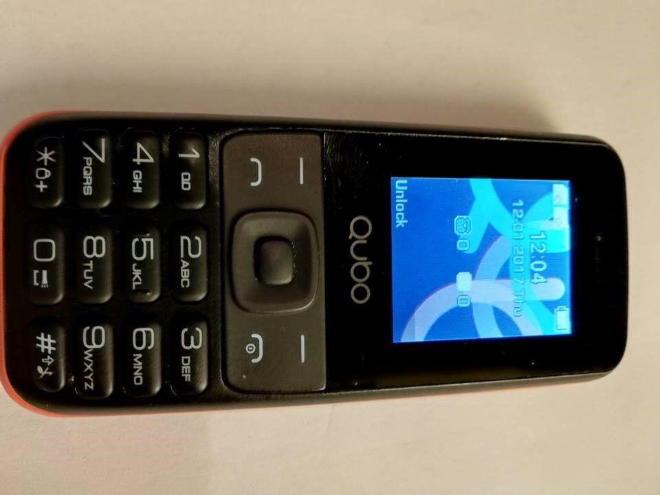 Andet mærke Qubo Hera God rejsemobil 2 simkort Camera,