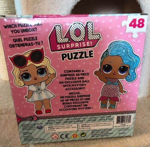 LOL Suprise! Puzzle 48 pieces New in Box. Great Stocking Stuffer!
