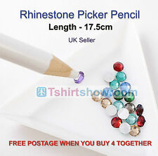 2 Rhinestone Picker Pencils Excellent quality, Suitable for Motifs and Nail Art