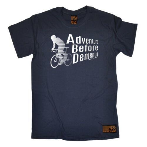 Adventure Before Dementia Cyclin Cycling T-Shirt Funny Novelty Mens tee TShirt