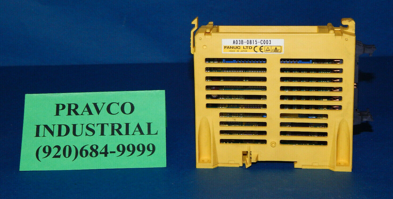 Fanuc A03B-0815-C003 I O Expansion Module A03B0815C003 AO3BO815COO3