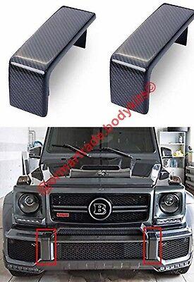 "w 463 Mercedes G class carbon fiber /""fangs/"" bumper"