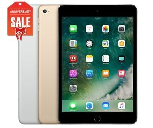 Apple-iPad-Mini-4-64GB-WiFi-Unlocked-7-9-Touch-ID-GOLD-GRAY-SILVER-R-D