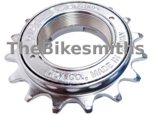 "Dicta LMA-8N 3//32/"" Single Speed Bike Free Wheel Silver BMX 16 17 18t Removable"