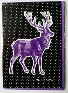 F40-Carte-034-Merry-X-mas-034-enveloppe-Neuf