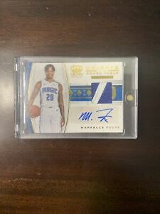 Markelle Fultz Knights Of the Round table Crown Royale Patch auto /10