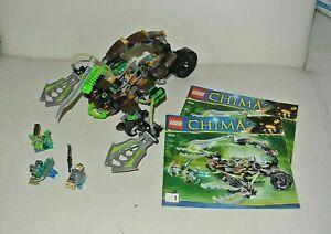 LEGO-chima-Scorm-039-s-Scorpion-Stinger-set-70132-complet-avec-notice