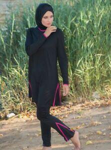 Tesettür Mayo Swimwear Reichhaltiges Angebot Und Schnelle Lieferung Bademode Hijab,badeanzug M-8402 Hasema Burkini