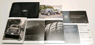 ford   super duty diesel gas owners manual
