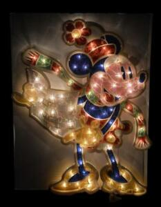 '05 DISNEY SHOPPING MINNIE MOUSE CHRISTMAS LIGHT UP INDOOR ...