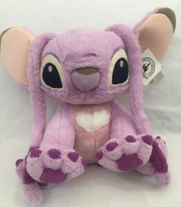 Disney-Parks-Angel-of-Lilo-and-Stitch-Plush-Stuffed-Animal-Pink-13in-Soft-Toy