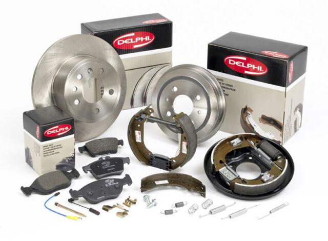 BG3593 Delphi Rear 2x Brake Discs BRAND NEW GENUINE 5 YEAR WARRANTY