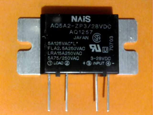 10 nais aq5a2 zp3 28vdc solid state relay for sale online ebay