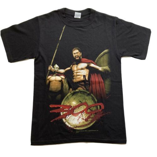 300 Movie T-Shirt Frank Miller Sparta Small