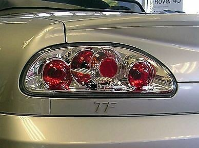 ROVER MGF MG TF CHROME LEXUS STYLE DESIGN REAR BACK TAIL LIGHTS