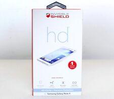 Genuine ZAGG Invisible Shield Original HD Premium Screen Protector Galaxy Note 4