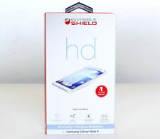 Genuine ZAGG Invisible Shield Original HD Smooth Screen Protector Galaxy Note 4