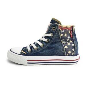 Gelernt Levi's Original High Red Tab Usa K | High-top Sneaker | Ehem. Uvp 54,95€ Up-To-Date-Styling