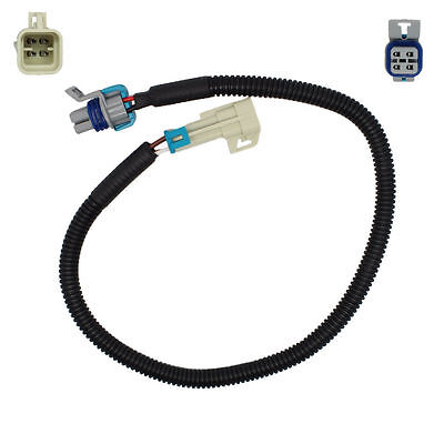 """TWO GM GRAY Square 4 Pin LS1 LS2 LS6 24/"""" O2 Oxygen Sensor Extension Wire Harness"""