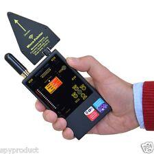 RF WiFi Bluetooth GSM DECT Anti Spy Wireless Signal Frequency Bug Detector TSCM