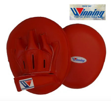 Winning Boxing Mitts Punch Mitts CM-25 1 set of 2 Red