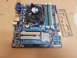 Bundle gigabyte ga-b75m-D3H  CPU Intel core i5-3450 sockel 1155  2Gb DDR3   K196