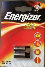 2 x Energizer A23 12V Battery 23A LRV08 MN21 E23A K23A