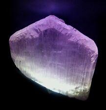 Large natural terminated Kunzite crystal 372 grams, old Afghanistan