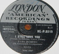 FATS DOMINO ~ I STILL LOVE YOU ~ WAIT SEE ~UK 78 RECORD ~ ROCK N ROLL ROCKABILLY