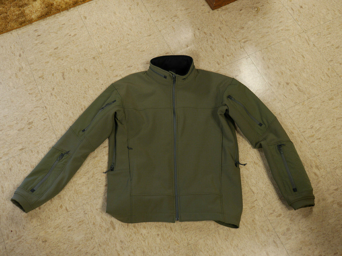 Wild Things Tactical Soft Shell Jacket 1.0 -- -- -- OD Grün -- Größe Medium 105