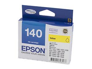 1x-Genuine-Epson-140-Yellow-Ink-Cartridge-for-WF3520-WF3540-WF840-NX635-WF7510