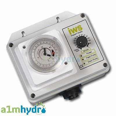 IWS Flood and Drain Premium Brain Timer Control Systems Hydroponics  7426805953045 | eBay