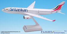 SriLankan Airlines Airbus A330-200 1:200 FlugzeugModell NEU Sri Lanka 330 Lankan