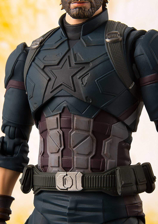 Comicfiguren DIAMOND SELECT Captain America Civil War Marvel Meilensteine Statuen 41 cm