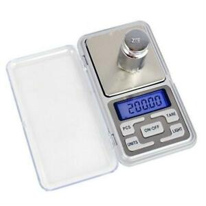 Pocket Digital Gram Scale Jewelry Weight Electronic Balance Scale HOT SALE