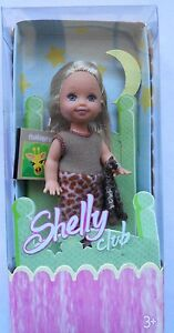 BARBIE-SHELLY-CLUB-AMIGOS-DE-PIJAMA-MATTEL-G8847