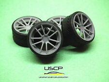 1/24 wheels 19 inch Rotiform SPF with tires Tamiya Aoshima Hasegawa