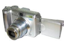 Photo.  Close-up of  Canon Powershot A610 digital camera