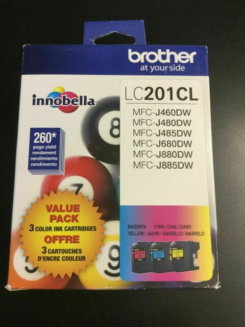 LC201CL BROTHER Tri Color Ink