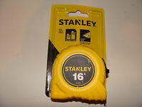 Stanley Tape Measure 16' 16 Ft 30-495 In Package Yelllow High Visibility