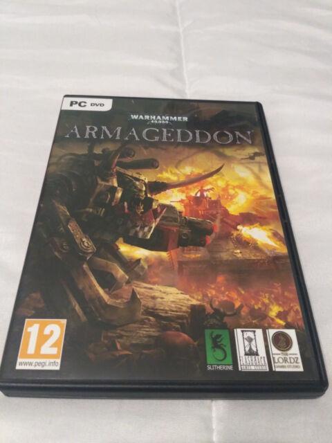 Warhammer 40000 ARMAGEDDON Pc Dvd Rom