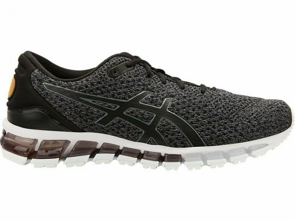 Neu in Box Herren Asics Gel-Quantum 360 Strick 2 T8G3N-9097 Schuhe Carbon Gold