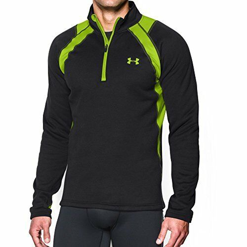 Men/'s Under Armour Scent Control Extreme Base 1//4 Zip Top 1259135 All Sizes