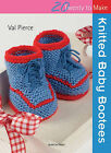Knitted Baby Bootees by Val Pierce (Paperback, 2011)