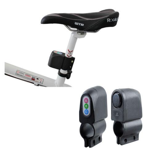 Bike Alarm Lock Bicycle Motorbike Moped Cycling Security Alarm Sound Loud