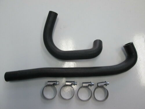 PORSCHE 944 IDLE CONTROL VALVE VACUUM HOSE KIT NEW WITH CLAMPS GENUINE  82 TO 85